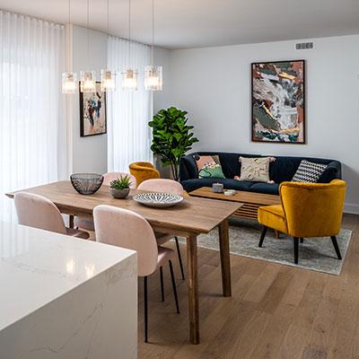 JOIA Laval salon appartement