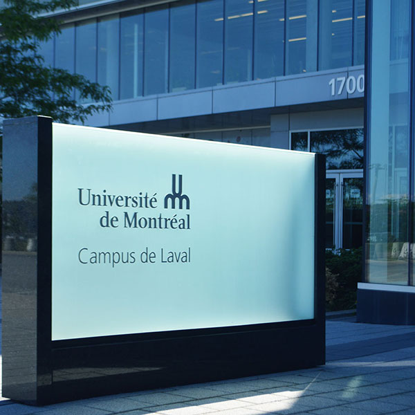University of Montreal next to Joia Laval
