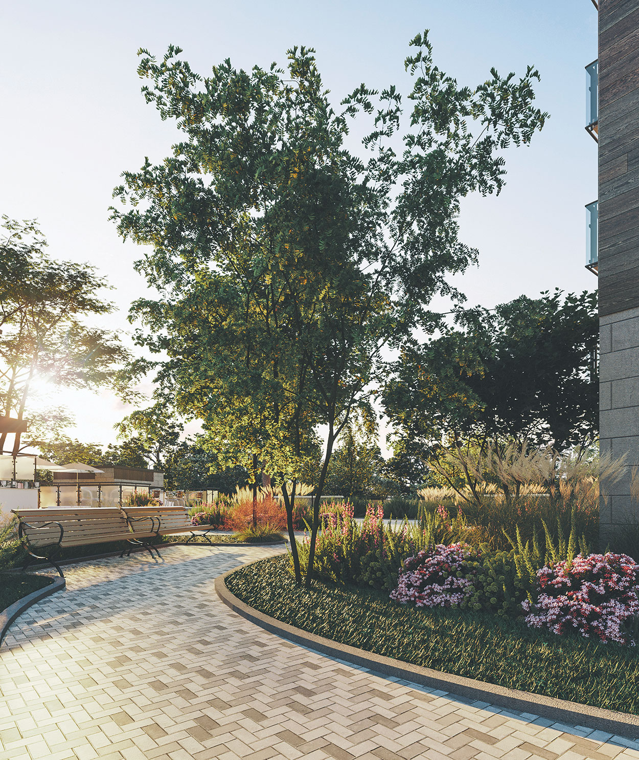 Jardin chic de Joia ville de Laval