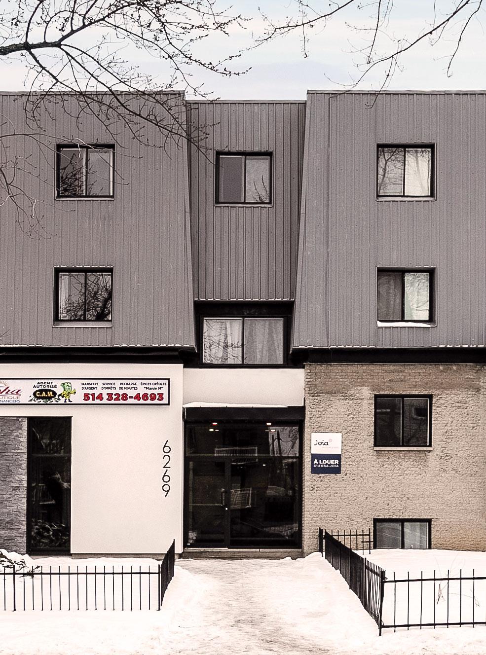 immeuble de logement à louer JOIA Maurice-Duplessis