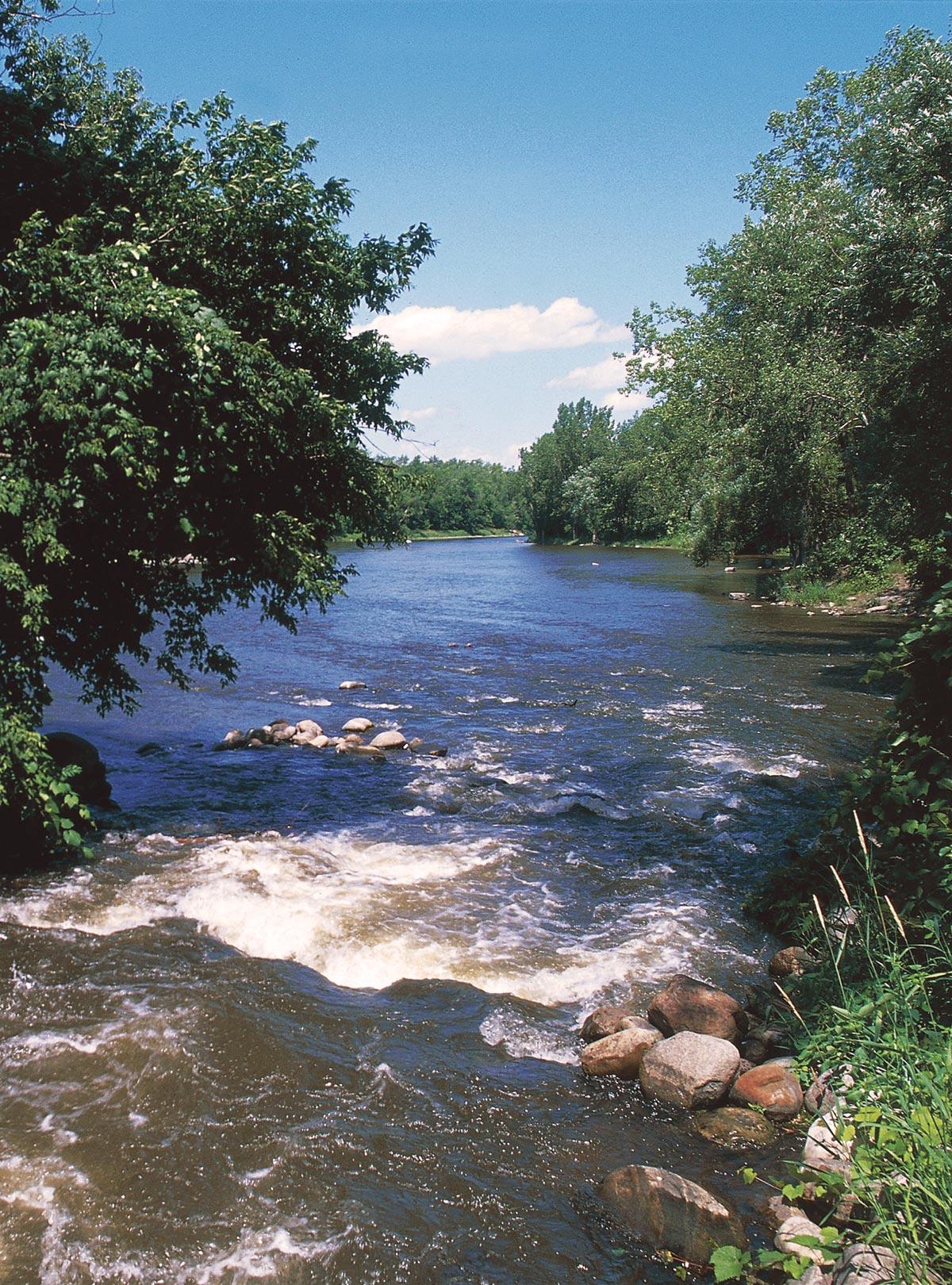 Rivière près de JOIA Martial