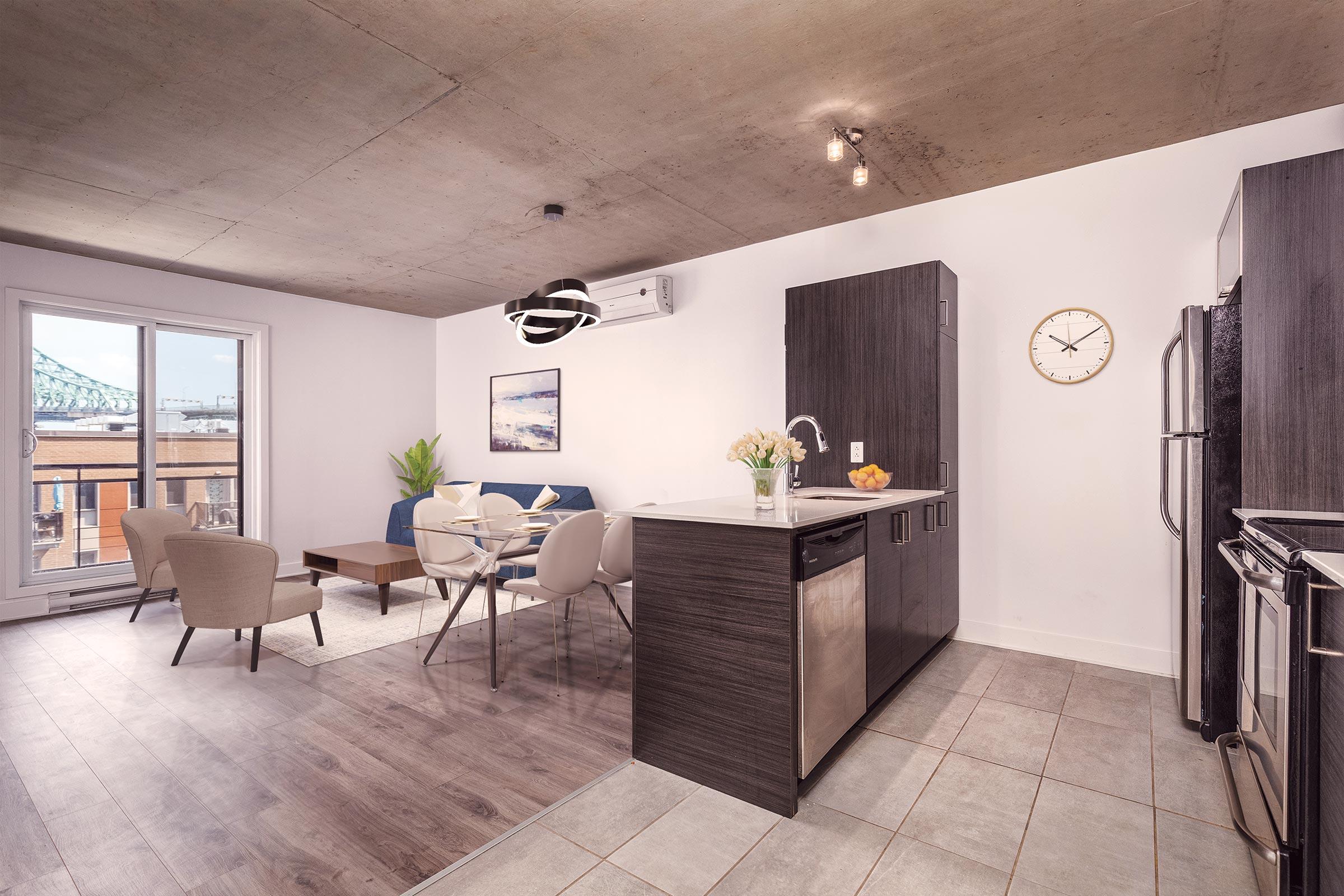 Apartment kitchen Joia Ville Marie
